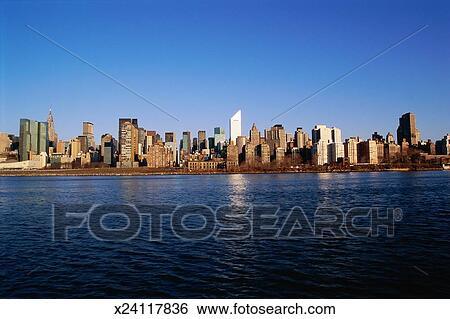 stock bilder ausbreiten new york city skyline x24117836 suche stockfotografie posterbilder. Black Bedroom Furniture Sets. Home Design Ideas