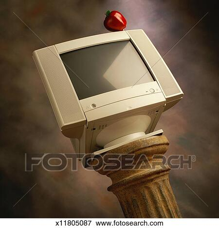 apple how to change computer monitor picture