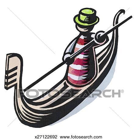 clip art of italy x27122692 search clipart illustration posters rh fotosearch com ski gondola clipart free clipart gondola venice