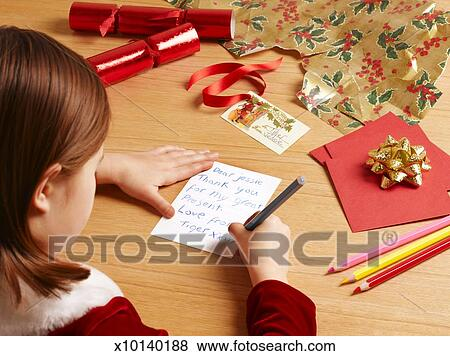 Pictures of girl 6 7 writing christmas cards over the shoulder girl 6 7 writing christmas cards over the shoulder view m4hsunfo