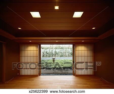 Archivio fotografico stanza in uno giapponese casa for Stanza giapponese
