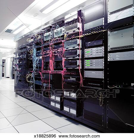 Stock Images Of Computer Server Room X18825896 Search