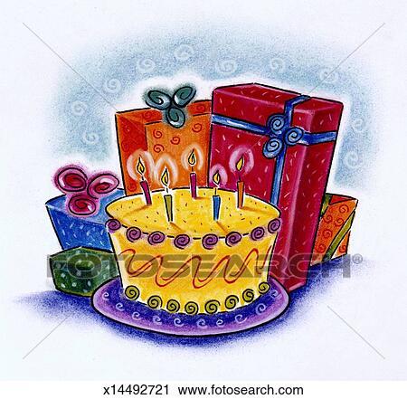 剪贴画 蛋糕
