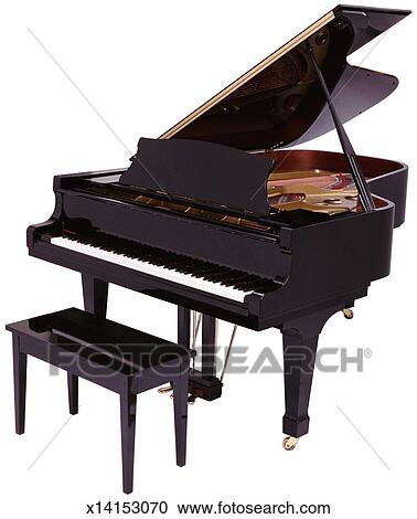 Stock photography of baby grand piano x14153070 search for How big is a baby grand piano
