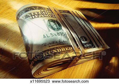 Roll of Paper Money Bound
