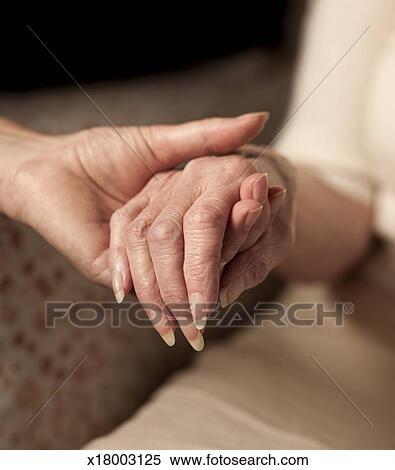 Comfort Holding Hands