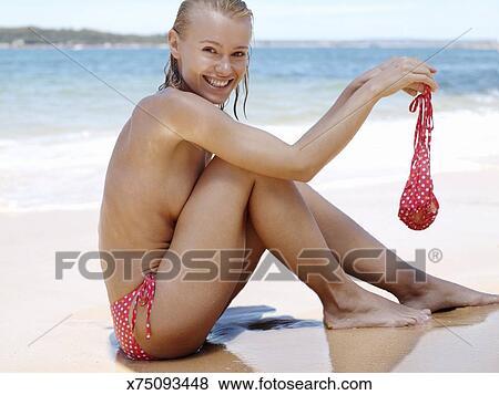 Girl Without Bikini