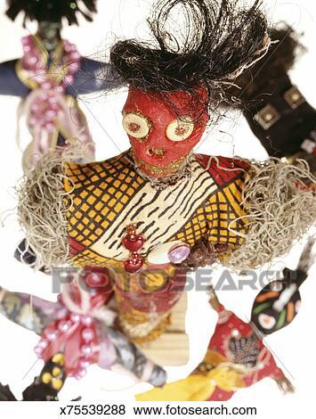 Authentic voodoo dolls