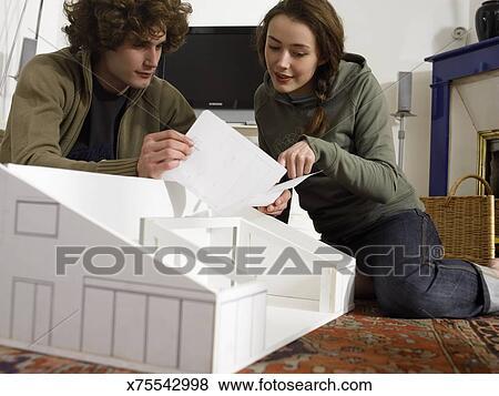 Model house instructions