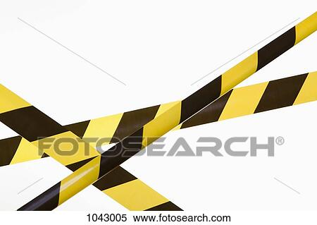 banque d 39 image crisscrossed jaune noir ray cordon bande 1043005 recherchez des photos. Black Bedroom Furniture Sets. Home Design Ideas