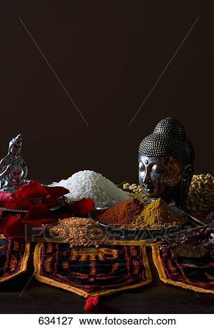 image typique indien cuisine ingr dients 634127 recherchez des photos des images des. Black Bedroom Furniture Sets. Home Design Ideas