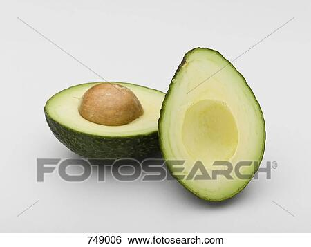 how to cut an avocado in thirds