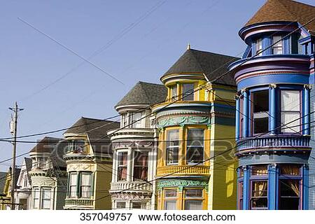 Immagine stile vittoriano case in uno citt haight for Case fabbricate in stile vittoriano