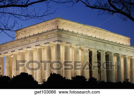 lincoln memorial building clipart. lincoln memorial building clipart b
