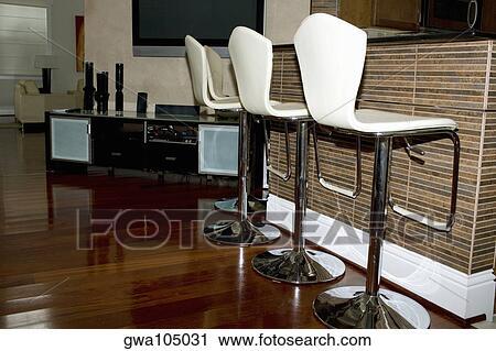 Stuhlreihe clipart  Stock Fotografie - stuhlreihe, an, a, innenküche gwa105031 - Suche ...