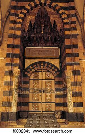 Islam door islamic art Syria Middle East mosque Alep & Stock Image of Islam door islamic art Syria Middle East ... pezcame.com