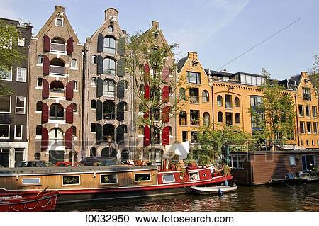 Archivio fotografico il paesi bassi olanda nord for Houseboat amsterdam prezzi
