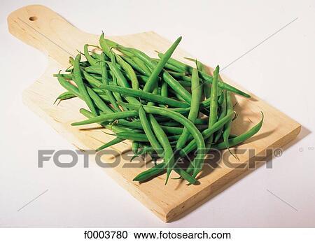 Banques de photographies fruits l gumes nourriture l gume haricot bois planche vert - Haricot vert fruit ou legume ...