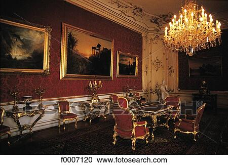 Stock Photography of Vienna, Hofburg : imperial apartments ...