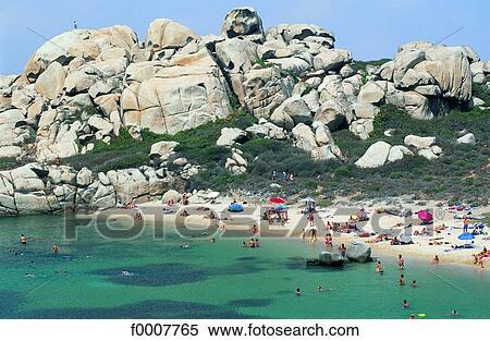 Stock image of france corsica bonifacio lavezzi island for Bonifacio mural