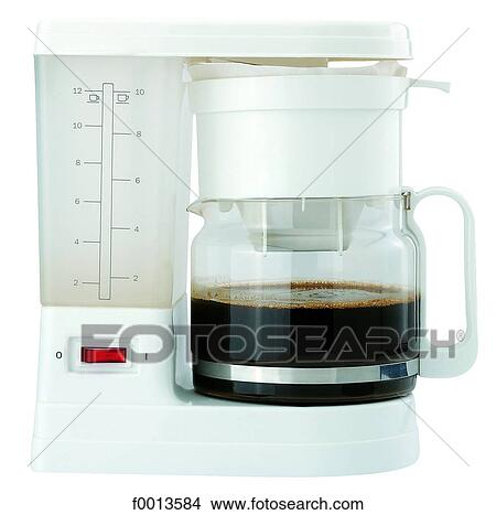 Large Electric Coffee Maker : Stock Photo of Electric coffee maker f0013584 - Search Stock Images, Mural Photographs, Pictures ...