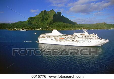 Stock Images Of French Polynesia Windward Islands Cruise On MS - Ms paul gauguin