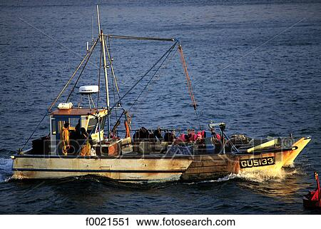 Stock photography of channel islands guernsey fishing for Channel islands fishing