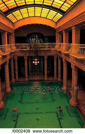 Pictures of hungary budapest gellert hotel bath indoor - Hotels in bath with swimming pool ...