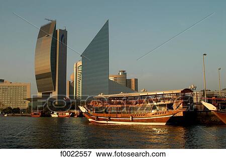 Sunset Building Dubai Bank of Dubai Building And
