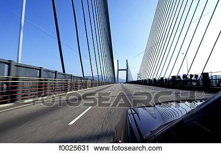 Banques de photographies porcelaine hong kong pont encha nement lantau - Pont des arts hong kong ...