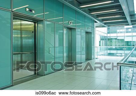 banques de photographies ascenseurs dans bureau vide bloc is099o6ac recherchez des photos. Black Bedroom Furniture Sets. Home Design Ideas