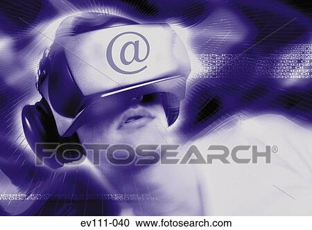 virtual caucásico
