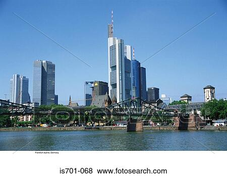 bilder frankfurt skyline deutschland is701 068 suche stockfotos bilder print fotos und. Black Bedroom Furniture Sets. Home Design Ideas