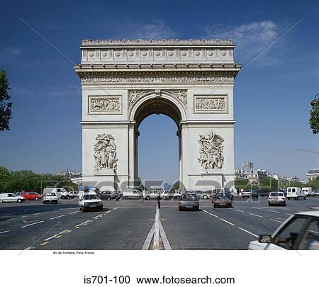 Stock photography of arc de triomphe paris france is701 for Arc de triomphe wall mural