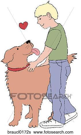 Stock Illustration of Pet Adoption braucl0172s - Search Clip Art ...