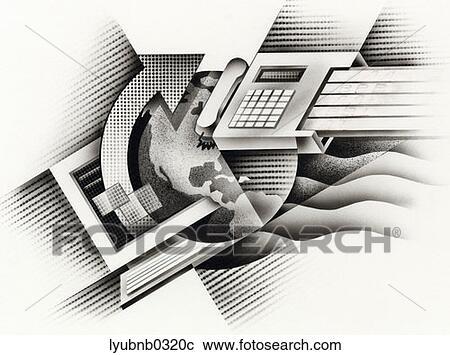 fax machine connection