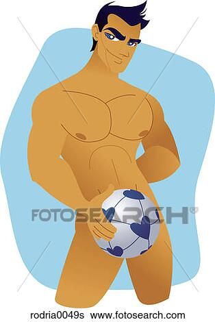 Clip art y jugo desnudo