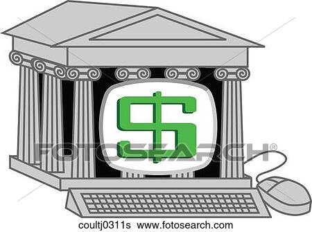 Stock Illustration of Online Banking coultj0311s - Search ...