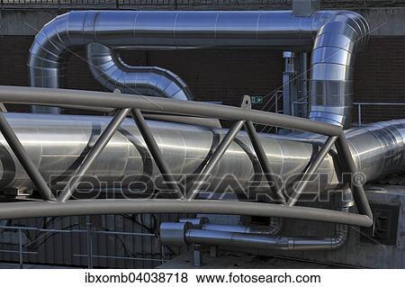Fotos district calefacci n tuber a en un tuber a - Calefaccion central electrica ...