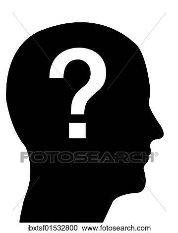 问号,                   问题,                   黑白图片