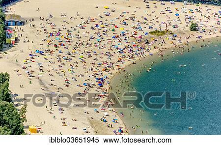 beach am see