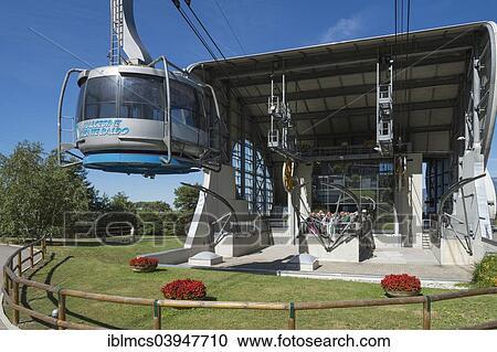 Stock Photography Of Cable Car To Monte Baldo Malcesine Verona