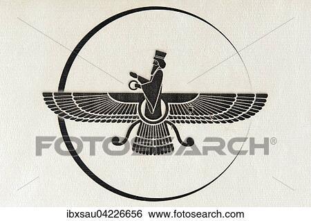 ahura mazda symbol