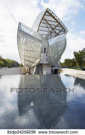 Stock Bilder - louis, Vuitton, grundlage, privat, museum moderner ...