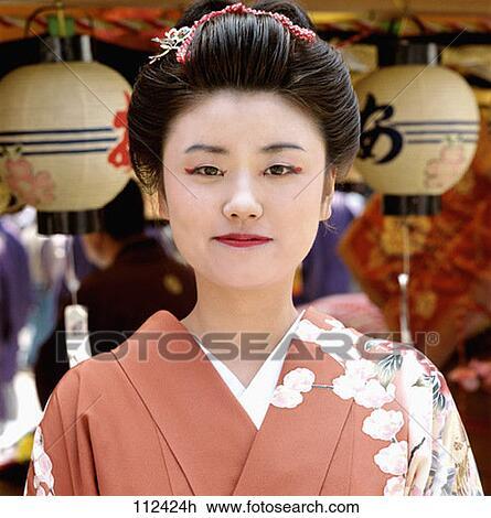 Images de fille de geisha