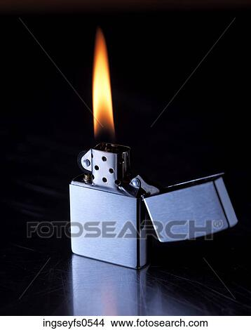 Zippo Lighters Flame Stock Photo of ...