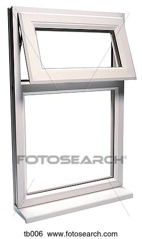 stock image photograph of a upvc window frame fotosearch search stock photography - Window Clip Frame
