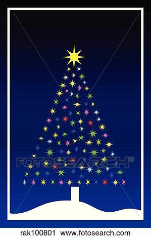 剪贴画 圣诞树