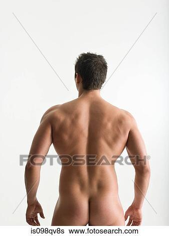Photographie d'homme nue