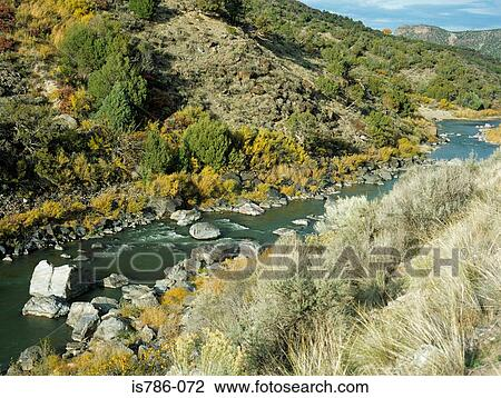 Stock Photo of Rio grande new mexico is786-072 - Search ...
